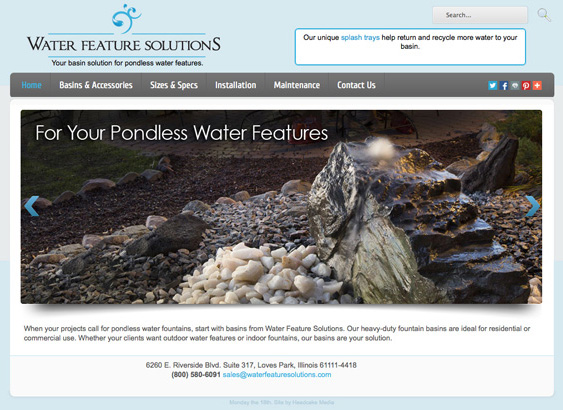 WaterFeatureSolutions.com